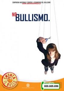 Bullismo femminile a scuola - poster del Ministero