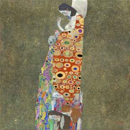 la speranza secondo Klimt