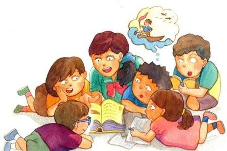 Disegno Bambini Che Parlano.Biblioterapia Per Bambini I Vantaggi Di Legger Libri Qui Psicologia