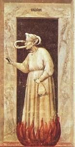 Invidia secondo Giotto