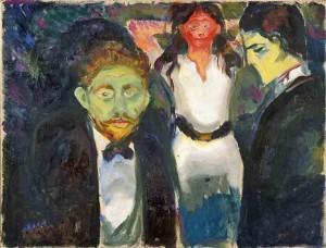 Edvard Munch - Gelosia